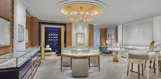 Starting October 2019, Lotte Avenuel Chaumet Boutique will open with new interior concept.